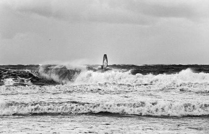 Windsurfen auf Norderney